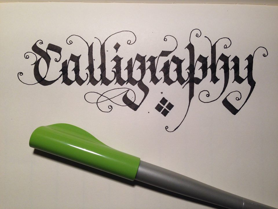 Learn calligraphy gallery and videos of calligraphy demonstrations