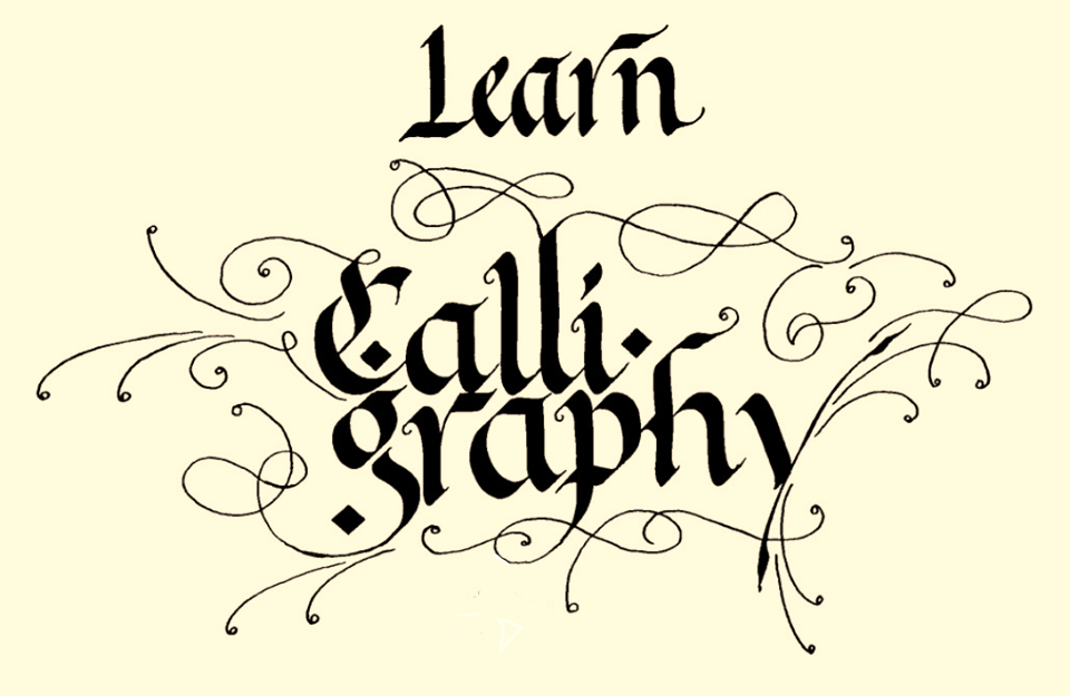 Learn calligraphy gallery and videos of